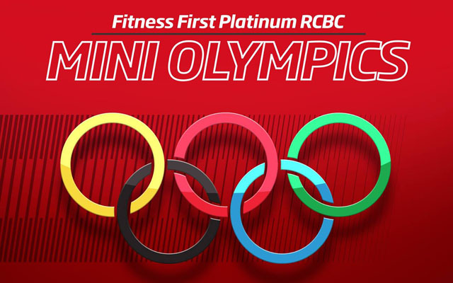 Fitness First Platinum RCBC Mini-Olympics: My First Podium Finish