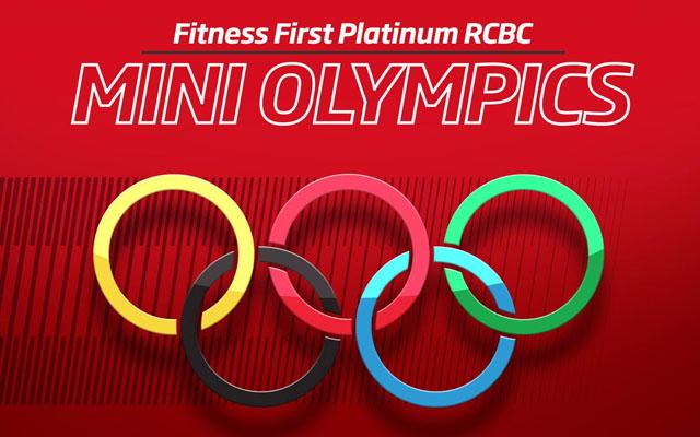 Fitness First Platinum RCBC Mini-Olympics: My First Podium Finish